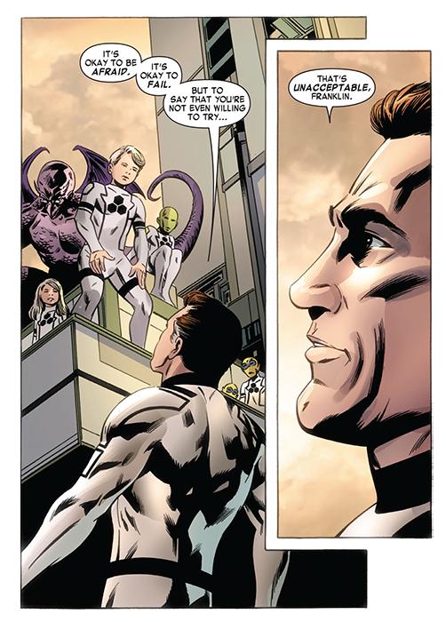 La familia es el principal tema en los Fantastic Four de Hickman